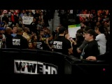 WWE Monday Nignt RAW 04.02.2013 After The Shield attacks Brad Maddox, John Cena, Sheamus and Ryback send them running for cover